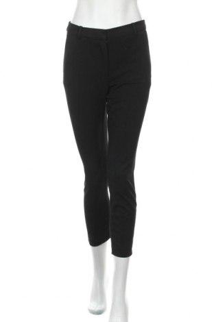 Дамски панталон H&M, Размер S, Цвят Черен, 68% полиестер, 28% вискоза, 4% еластан, Цена 21,00лв.