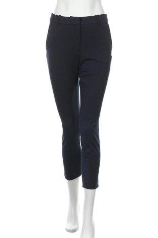 Дамски панталон H&M, Размер S, Цвят Син, 68% полиестер, 28% вискоза, 4% еластан, Цена 21,75лв.