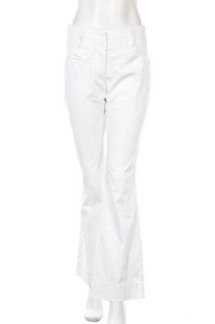 Γυναικείο παντελόνι Hallhuber, Μέγεθος M, Χρώμα Λευκό, 65% βαμβάκι, 32% πολυαμίδη, 3% ελαστάνη, Τιμή 30,31€