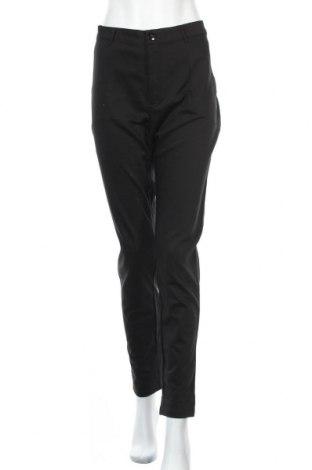Дамски панталон Kaffe, Размер XL, Цвят Черен, 61% памук, 36% полиестер, 3% еластан, Цена 53,40лв.