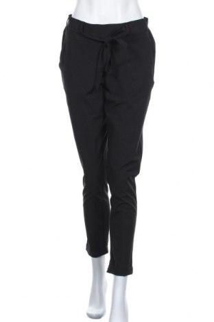 Дамски панталон Kaffe, Размер M, Цвят Черен, 68% полиестер, 28% вискоза, 4% еластан, Цена 89,25лв.