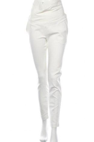 Панталон за бременни LOVE2WAIT, Размер M, Цвят Екрю, 57% памук, 40% полиестер, 3% еластан, Цена 43,46лв.