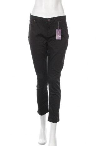 Дамски панталон Lascana, Размер L, Цвят Черен, 66% памук, 31% полиестер, 3% еластан, Цена 39,50лв.