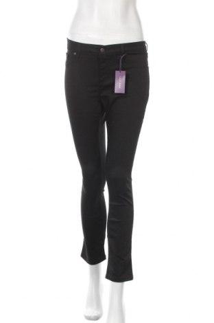 Дамски панталон Lascana, Размер M, Цвят Черен, 66% памук, 31% полиестер, 3% еластан, Цена 39,50лв.