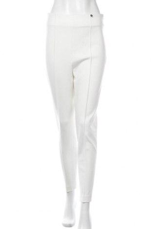 Γυναικείο παντελόνι Liu Jo, Μέγεθος M, Χρώμα Λευκό, 70% βισκόζη, 26% πολυαμίδη, 4% ελαστάνη, Τιμή 27,05€