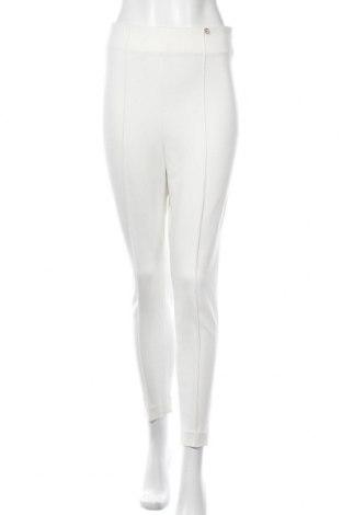 Γυναικείο παντελόνι Liu Jo, Μέγεθος S, Χρώμα Λευκό, 70% βισκόζη, 26% πολυαμίδη, 4% ελαστάνη, Τιμή 32,15€