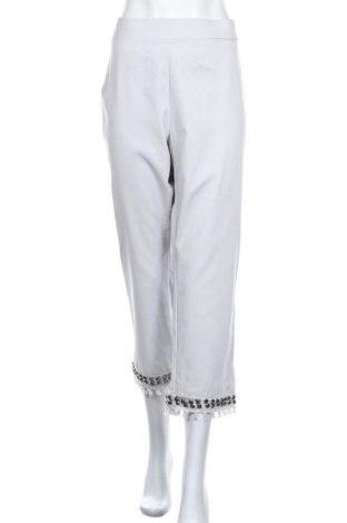 Γυναικείο παντελόνι Maggie T, Μέγεθος XL, Χρώμα Γκρί, 55% βαμβάκι, 42% πολυαμίδη, 3% ελαστάνη, Τιμή 20,98€