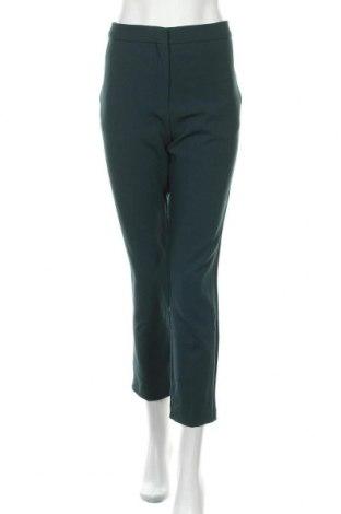 Γυναικείο παντελόνι Mango, Μέγεθος L, Χρώμα Πράσινο, 64% πολυεστέρας, 31% βισκόζη, 5% ελαστάνη, Τιμή 36,49€