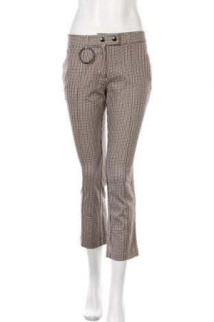 Дамски панталон Mango, Размер S, Цвят Кафяв, 53% памук, 44% вискоза, 3% еластан, Цена 44,25лв.