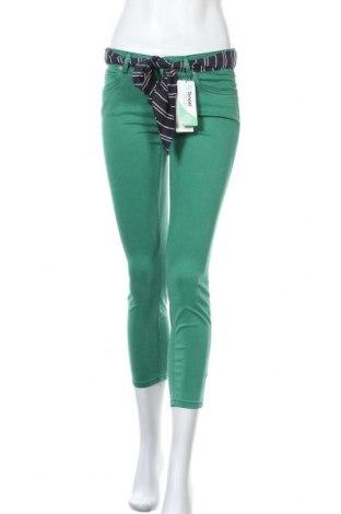 Γυναικείο παντελόνι Marc O'Polo, Μέγεθος S, Χρώμα Πράσινο, 64% lyocell, 32% βαμβάκι, 4% ελαστάνη, Τιμή 74,88€
