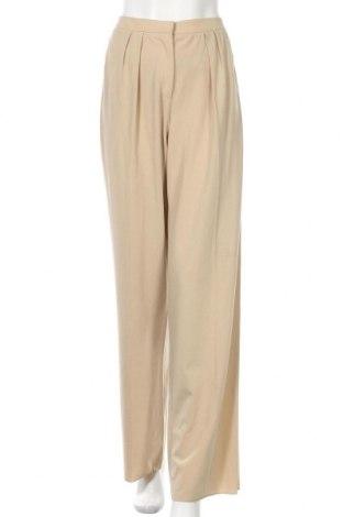 Dámské kalhoty  Marella, Velikost M, Barva Béžová, 68% polyester, 29% viskóza, 3% elastan, Cena  1985,00Kč