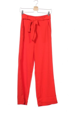 Γυναικείο παντελόνι Mbym, Μέγεθος XS, Χρώμα Κόκκινο, 98% πολυεστέρας, 2% ελαστάνη, Τιμή 27,53€