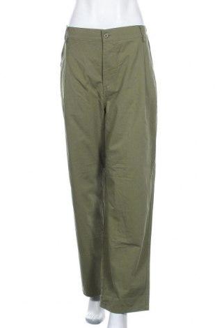Дамски панталон Miss Look, Размер XL, Цвят Зелен, Памук, полиестер, Цена 28,93лв.