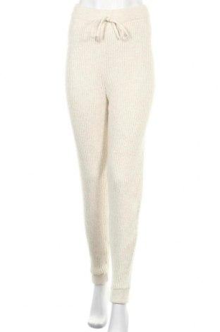 Дамски панталон Miss Selfridge, Размер M, Цвят Екрю, 85% акрил, 10% полиестер, 5% полиамид, Цена 33,00лв.