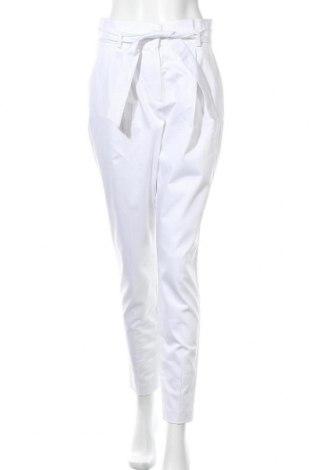 Γυναικείο παντελόνι More & More, Μέγεθος S, Χρώμα Λευκό, 97% βαμβάκι, 3% ελαστάνη, Τιμή 31,20€