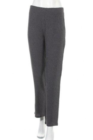 Γυναικείο παντελόνι Myrine, Μέγεθος S, Χρώμα Γκρί, 81% πολυεστέρας, 18% βισκόζη, 1% ελαστάνη, Τιμή 17,31€