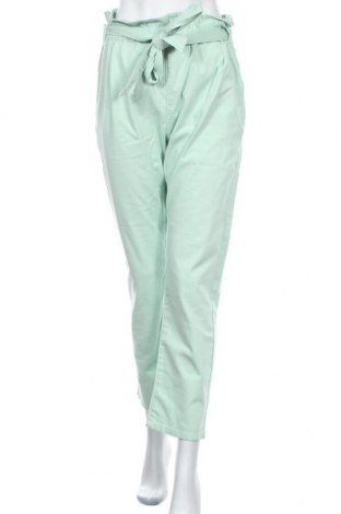 Γυναικείο παντελόνι Na-Kd, Μέγεθος S, Χρώμα Πράσινο, 98% βαμβάκι, 2% ελαστάνη, Τιμή 21,34€