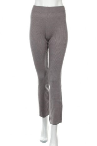 Дамски панталон New Look, Размер S, Цвят Сив, Цена 40,50лв.