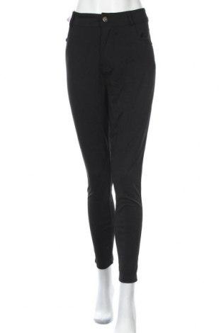 Дамски панталон New Look, Размер XL, Цвят Черен, 66% вискоза, 29% полиестер, 5% еластан, Цена 10,76лв.