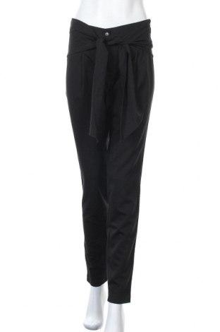 Γυναικείο παντελόνι Nife, Μέγεθος M, Χρώμα Μαύρο, 60% πολυεστέρας, 35% βισκόζη, 5% ελαστάνη, Τιμή 22,81€