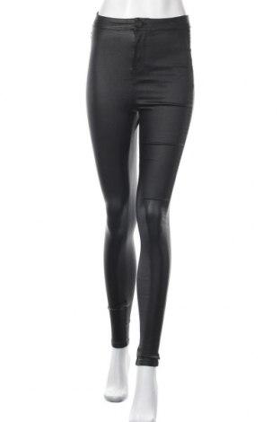 Γυναικείο παντελόνι Noisy May, Μέγεθος M, Χρώμα Μαύρο, 77% βισκόζη, 20% πολυαμίδη, 3% ελαστάνη, Τιμή 16,12€