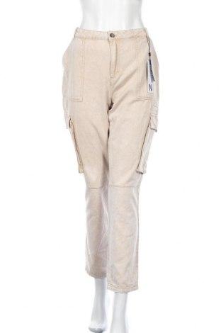 Γυναικείο παντελόνι Noisy May, Μέγεθος L, Χρώμα  Μπέζ, Βαμβάκι, Τιμή 22,20€
