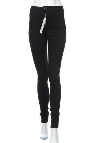 Γυναικείο παντελόνι Noisy May, Μέγεθος S, Χρώμα Μαύρο, 70% βαμβάκι, 28% πολυεστέρας, 2% ελαστάνη, Τιμή 14,74€