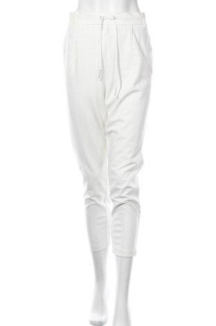 Γυναικείο παντελόνι ONLY, Μέγεθος XL, Χρώμα Λευκό, 63% βισκόζη, 32% πολυαμίδη, 5% ελαστάνη, Τιμή 11,63€