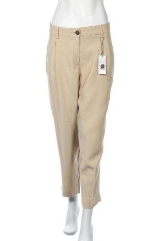 Γυναικείο παντελόνι Opus, Μέγεθος XL, Χρώμα  Μπέζ, 90% βισκόζη, 10% πολυεστέρας, Τιμή 34,41€