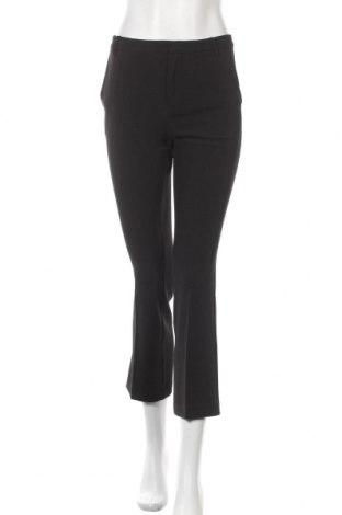 Дамски панталон Part Two, Размер XS, Цвят Черен, 88% полиестер, 12% еластан, Цена 16,35лв.