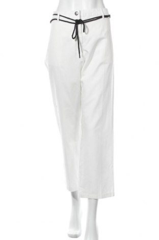 Γυναικείο παντελόνι Replay, Μέγεθος XL, Χρώμα Λευκό, 78% βαμβάκι, 22% λινό, Τιμή 90,79€