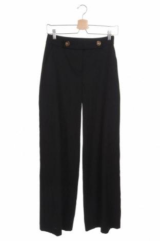 Pantaloni de femei Reserved, Mărime XS, Culoare Negru, 63% poliester, 32% viscoză, 5% elastan, Preț 64,87 Lei