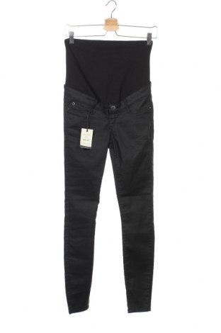 Дамски панталон River Island, Размер XS, Цвят Черен, 55% памук, 39% полиестер, 6% еластан, Цена 33,92лв.