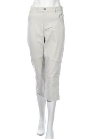 Дамски панталон Rockmans, Размер XL, Цвят Сив, Вискоза, полиамид, еластан, Цена 30,24лв.