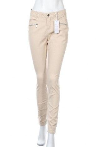 Γυναικείο παντελόνι Tamaris, Μέγεθος M, Χρώμα  Μπέζ, 98% βαμβάκι, 2% ελαστάνη, Τιμή 33,49€