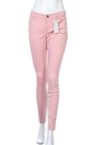 Γυναικείο παντελόνι Tamaris, Μέγεθος M, Χρώμα Ρόζ , 98% βαμβάκι, 2% ελαστάνη, Τιμή 33,49€