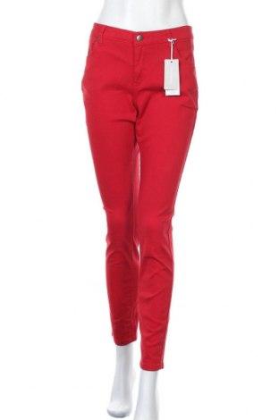 Γυναικείο παντελόνι Tamaris, Μέγεθος M, Χρώμα Κόκκινο, 98% βαμβάκι, 2% ελαστάνη, Τιμή 33,49€