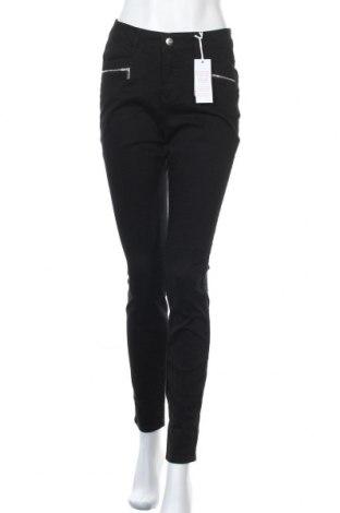 Γυναικείο παντελόνι Tamaris, Μέγεθος M, Χρώμα Μαύρο, 98% βαμβάκι, 2% ελαστάνη, Τιμή 33,49€