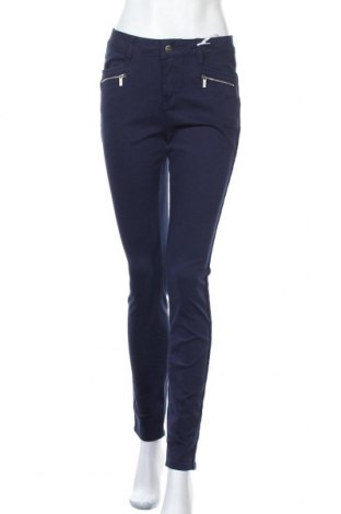 Γυναικείο παντελόνι Tamaris, Μέγεθος S, Χρώμα Μπλέ, 98% βαμβάκι, 2% ελαστάνη, Τιμή 33,49€