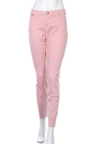 Γυναικείο παντελόνι Tamaris, Μέγεθος L, Χρώμα Ρόζ , 98% βαμβάκι, 2% ελαστάνη, Τιμή 28,60€