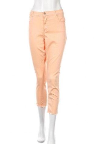 Γυναικείο παντελόνι Time and tru, Μέγεθος XL, Χρώμα Πορτοκαλί, 70% βαμβάκι, 27% πολυεστέρας, 3% ελαστάνη, Τιμή 15,59€