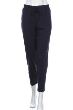 Γυναικείο παντελόνι Tom Tailor, Μέγεθος L, Χρώμα Μπλέ, 60% βισκόζη, 34% πολυαμίδη, 6% ελαστάνη, Τιμή 32,48€