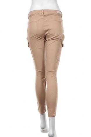 Γυναικείο παντελόνι Tom Tailor, Μέγεθος M, Χρώμα  Μπέζ, 98% βαμβάκι, 2% ελαστάνη, Τιμή 32,48€