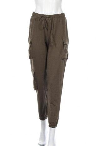 Γυναικείο παντελόνι Trendyol, Μέγεθος S, Χρώμα Πράσινο, 60% βαμβάκι, 35% πολυεστέρας, 5% ελαστάνη, Τιμή 18,93€