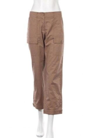 Γυναικείο παντελόνι Turnover, Μέγεθος M, Χρώμα Καφέ, 100% βαμβάκι, Τιμή 22,73€