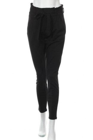 Дамски панталон Vero Moda, Размер S, Цвят Черен, 65% вискоза, 30% полиамид, 5% еластан, Цена 42,00лв.