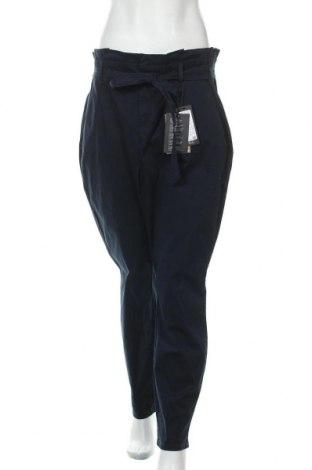 Дамски панталон Vero Moda, Размер XL, Цвят Син, 98% памук, 32% еластан, Цена 44,25лв.