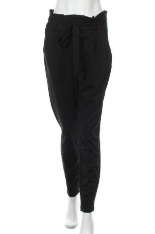 Дамски панталон Vero Moda, Размер L, Цвят Черен, 65% вискоза, 30% полиамид, 5% еластан, Цена 44,25лв.
