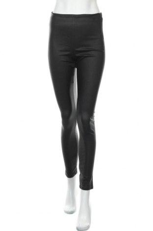 Дамски панталон Vila, Размер M, Цвят Черен, 77% вискоза, 20% полиамид, 3% еластан, Цена 36,75лв.