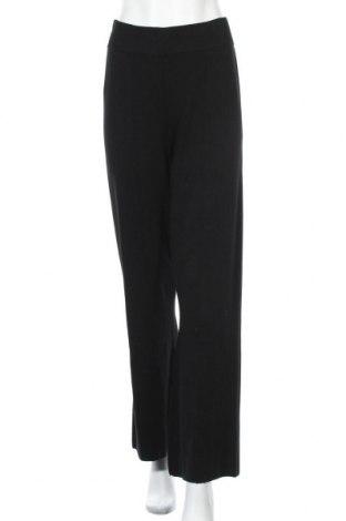 Γυναικείο παντελόνι Y.A.S, Μέγεθος L, Χρώμα Μαύρο, 85% βισκόζη, 15% πολυαμίδη, Τιμή 27,69€
